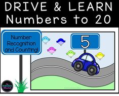 Counting To 20, Counting Activities, Teaching Math, Maths, Printable Numbers, Starting School, Number Recognition, Learning Numbers, Hands On Learning