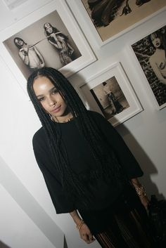 Zoe Kravitz in Chrome Hearts [Photo by Lexie Moreland]