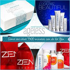 Luminesce Stem Cell Growth Factor Skin Care System and Instantly Ageless.Zen for Weight Loss and Finiti, AM/PM for Health and Wellness.Beauty from the Inside out, and the Outside In. Eyebrow Lift, Cell Growth, Under Eye Bags, Growth Factor, Body Systems, Stem Cells, Acne Scars, Anti Aging, Skin Care