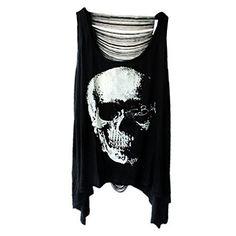 Sexy Skull Schädel Punk  T-Shirt