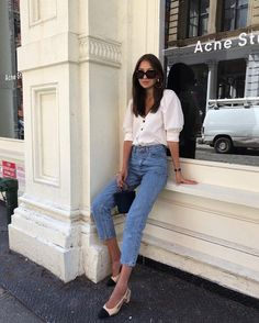 You Only Need Three Items To Ace This Summer Look (Le Fashion) - pinnerships Fashion Mode, Look Fashion, Street Fashion, Fashion Design, Womens Fashion, Feminine Fashion, Ladies Fashion, Daily Fashion, Fashion Online