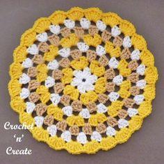 Granny Doily Crochet pattern by Heather crochetncreate