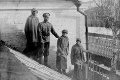 Famille Romanov: Photo de leur captivité.