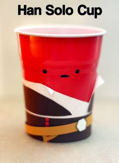 Han Solo Cup…I will be drinking from this on my bday !