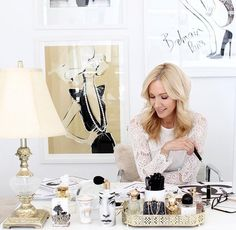 People Who Inspire Us: Megan Hess. We catch up with Megan Hess, an author and in demand illustrator for big fashion and brand names. Office Decor, Home Office, Megan Hess Illustration, Illustration Art, Le Bristol, Kerrie Hess, Fashion Sketches, Fashion Illustrations, Drawing Tutorials