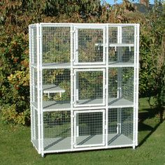 Penthouse Products Tower Cat Enclosure