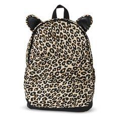 Girls' Leopard Print Backpack ($17) | Kids Clothing Ideas