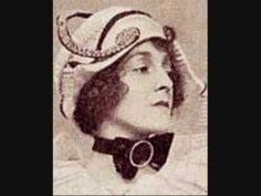 """Today is the birthday of early vaudeville favorite Else Janis (see her full bio here). Now here she is singing """"Florrie Was a Flapper"""" (recorded 1914): To find out more about the histo…"""
