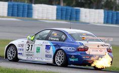 BMW 320 TC race car - WTCC
