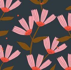 39 Ideas flowers illustration pattern texture colour for 2019 Art And Illustration, Flower Illustration Pattern, Floral Illustrations, Motifs Textiles, Textile Patterns, Flower Patterns, Flower Pattern Design, Pattern Wallpaper, Flower Wallpaper