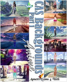 CAS Backgrounds Anime Part 1 at Annett's Sims 4 Welt Hayden Williams, Sims 4 Cas Background, Sims 4 Anime, Sims Packs, Sims 4 Update, Sims 4 Clothing, Sims Mods, Sims 4 Custom Content, Sims Cc