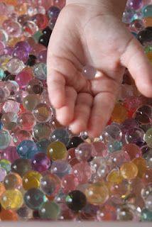 Aqua Gems sensory play