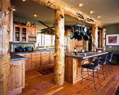Favorite cabin kitchen