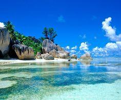 Der Strand von meiner Traum Insel