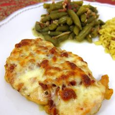 Cheesy Honey Mustard Chicken