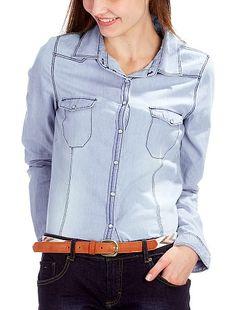 Camicia denim  Kiabi 14€99 Moda Da Donna 53bb90647c0