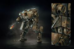 Assault Mech Concept | Gallery | Area by Autodesk