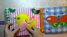 Мягкая развивающая книжка для детей от 6мес до 3-4лет