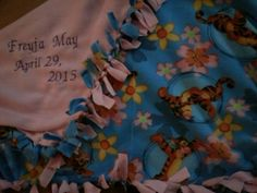 Personalised Blankets, Embroidered Blankets