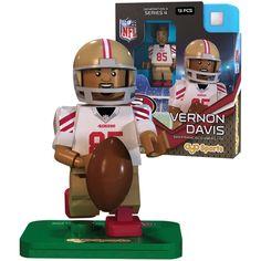 NFL Jersey's Infant San Francisco 49ers Vernon Davis Nike Scarlet Team Color Game Jersey
