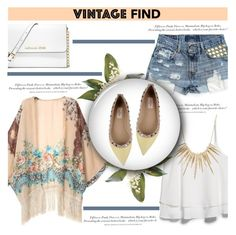 """""""Your Favorite Vintage Find"""" by antemore-765 ❤ liked on Polyvore"""