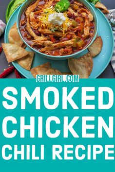 Grab this savory chili recipe to stay warm! It's got a smokey flavor and a great option to enter a chili cook-off with. Click through to get the list of ingredients and steps to make this mouth watering chili recipe. Easy Bbq Recipes, Tailgating Recipes, Barbecue Recipes, Bean Recipes, Chili Recipes, Side Dish Recipes, Grilling Recipes, Barbecue Sauce, Turkey Recipes