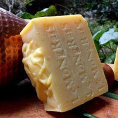 All Natural Lemongrass Artisan 7+ oz.Soap with Essential Oils (Stimulant & Cooling Soap) Handmade !