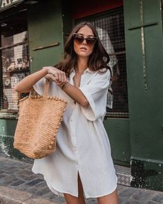 Simple Outfits, Chic Outfits, Summer Outfits, Saaj Paris, Spring Summer Fashion, Autumn Fashion, Warm Weather Outfits, Lisa, Mommy Style