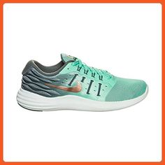 online store d891f a6bc0 Nike Womens LunarStelos Shield Green Glow Metallic Red Bronze - Athletic shoes  for women (