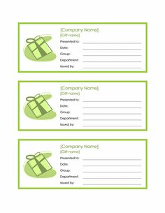 Gift baskets Employee Gift Certificate Template Word 2010