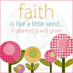 My Faith is important to me and I have planted seeds on several boards. I hope you will grow with them!