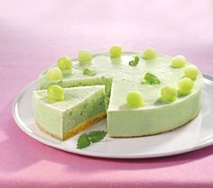 Frozen Melon Cake