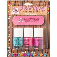 Piggy Paint Nail Polish, Forever Fancy, Girls Rule, and Sequin. non toxic and low odor. also have non toxic remover. Sleepover Birthday Parties, Birthday Ideas, 4th Birthday, Counting For Kids, Mini Spa, Glitter Balloons, Blacklight Party, Maila, Spa Party