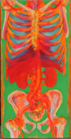 Florescent Anatomy 2 by Meghan Fay