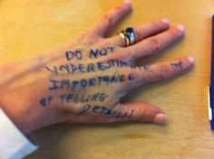 14 Writers Handwrite Their Writing Advice on Th... - Between Letters - Quora
