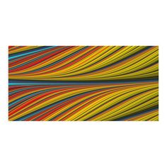 """Red, Yellow Color Fibers (11""""L x 22""""W)"""