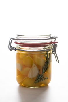 Pickled Yellow Plums