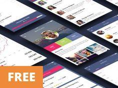24 fichiers PSD à télécharger gratuitement pour débuter août | BlogDuWebdesign