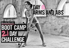 BodyRock Boot Camp - Day #8 | BodyRock.tv