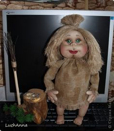Замарашечка во всей красе))) Кукла, которая может получится в результате этого МК. первая часть МК находится здесь: http://stranamasterov.ru/node/218315 фото 1