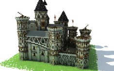 Medieval castle Minecraft by Heaven_Lord Minecraft Castle, Minecraft Modern, Minecraft Medieval, Amazing Minecraft, Minecraft Designs, Minecraft Creations, Medieval Castle, Minecraft Ideas, Minecraft Stuff
