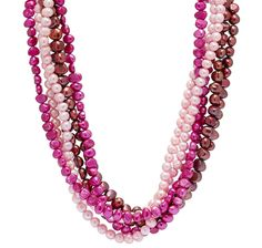 Freshwater Pearl Twist Necklace