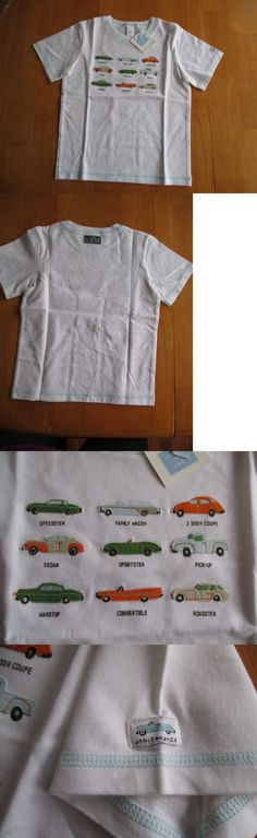 Tops Shirts and T-Shirts 175521: Nwt, Rare Find, Janie And Jack Boys T-Shirt With Appliqued Cars Sz. 5T, Nwt -> BUY IT NOW ONLY: $30 on eBay!