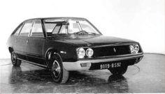 OG | 1974 Renault 20/30 R20 / R30 - Project 127 / X27 | Full-size mock-up