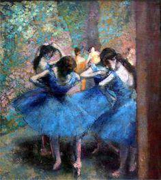 Danseuses Bleues by Edgar Degas, 1893