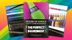 Point of Sale Materials for Bols #beverage #drink #design