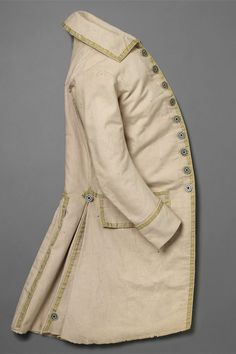 Coat — The John Bright Collection 18th Century Clothing, 18th Century Fashion, Baroque Fashion, Vintage Fashion, Gents Fashion, Power Dressing, Menswear, Clothes, Frock Coat