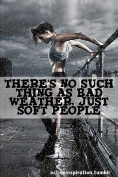 Get out there and get it done!