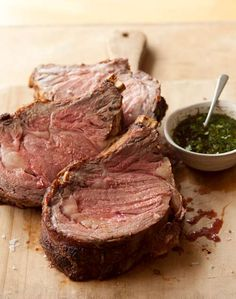 Standing Rib Roast - by the time Christmas rolls around who can take anymore ham or turkey?
