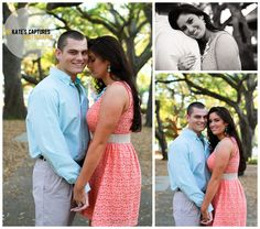 Downtown Pensacola Engagement Session // Kate's Captures Photography